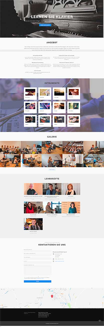 Homepage Webdesign Offenburg